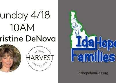 Idahope Families   Christine Denova   April 18 2021