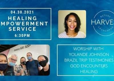 Healing Empowerment Service   Brazil Team   April 30, 2021